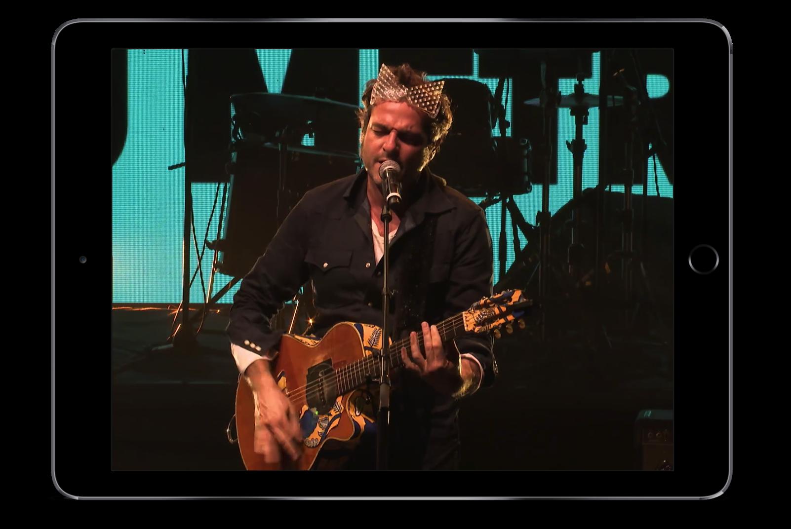 production de vidéo événementielle concert festival diffusion live sur internet